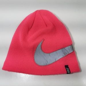 Nike Beanie One Size Youth Pink